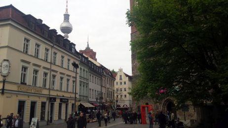 Laufen in Berlin - Nikolaiviertel